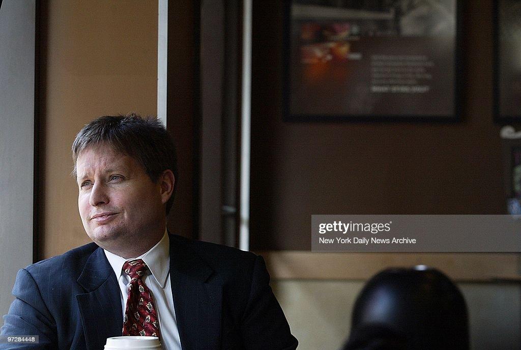 Navy Lt Jeffrey Zaun Of Cherry Hill N J At A Coffee Shop At W