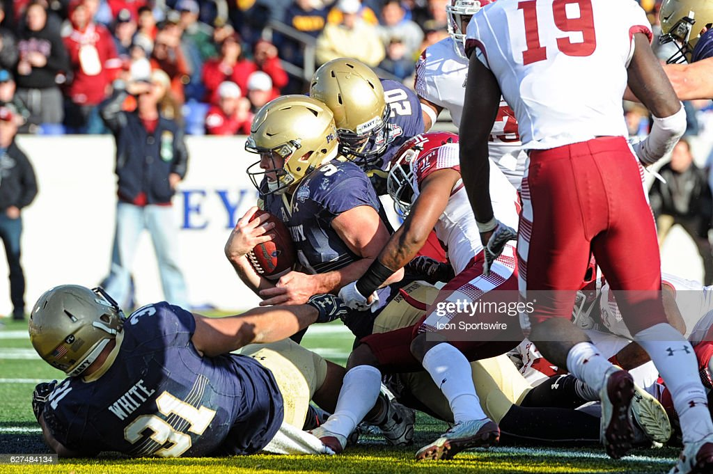 NCAA FOOTBALL: DEC 03 AAC Championship - Navy v Temple : News Photo