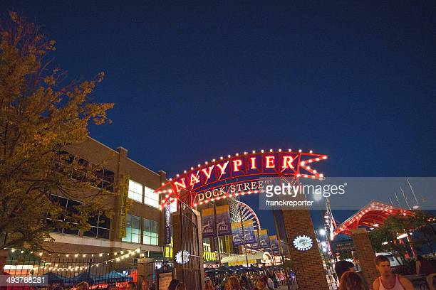 navy pier chicago park - navy pier stock pictures, royalty-free photos & images