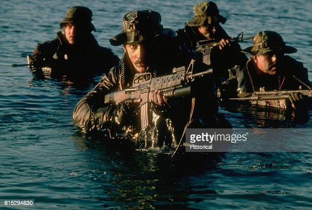 Think Like a Navy SEAL: Training Lessons for Entrepreneurship  |Navy Seals Emerging From Water
