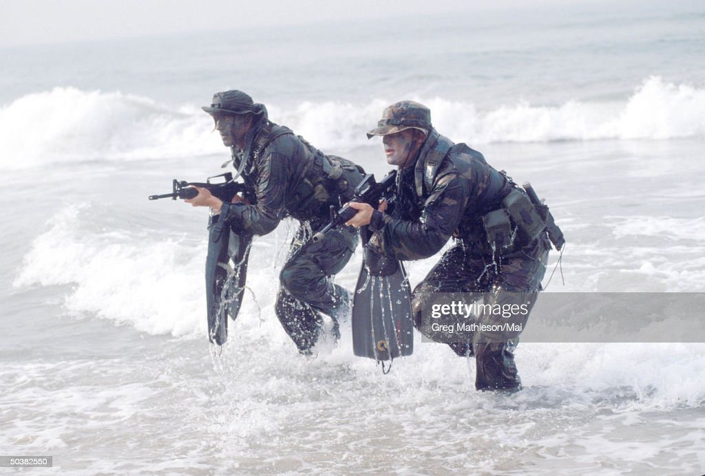 navy seals part of us special forces ニュース写真 getty images