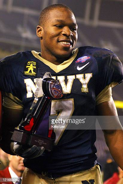 Navy sophomore Reggie Campbell was named the Poinsettia Bowl's most valuable offensive player in 5130 victory over Colorado State at Qualcomm Stadium...