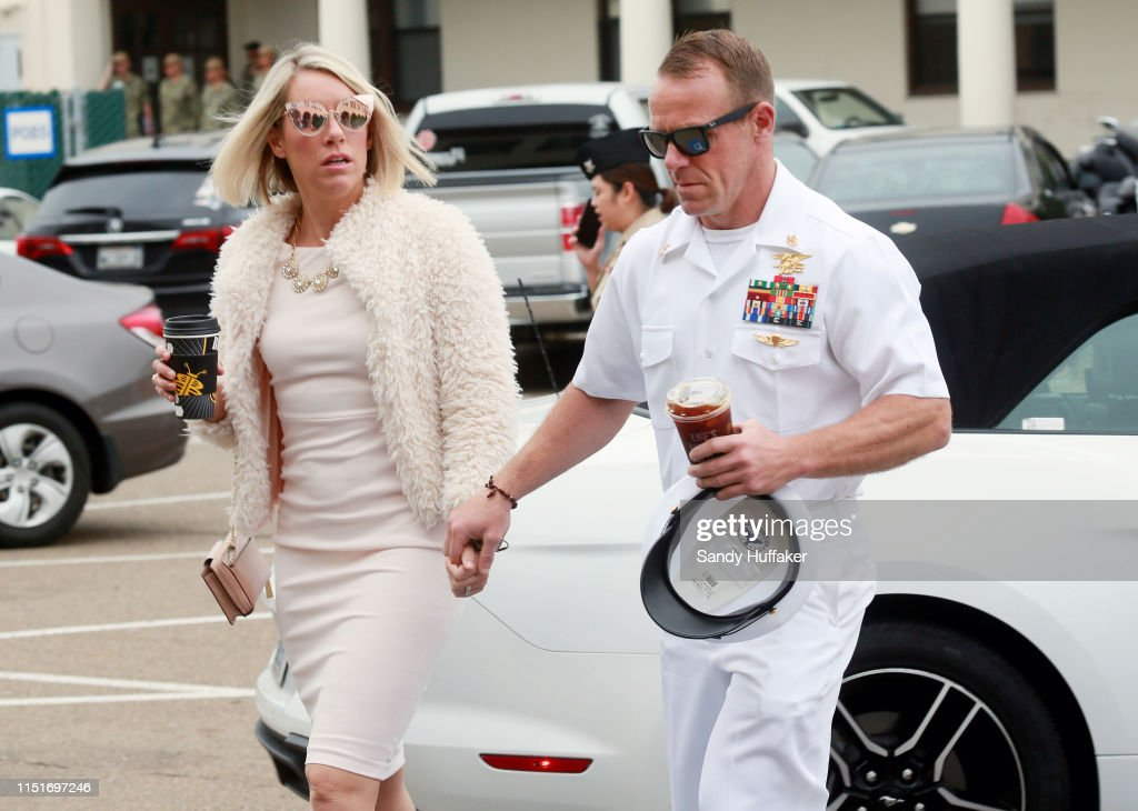 Military Trial Of Navy SEAL Eddie Gallagher Enters Second Week : News Photo