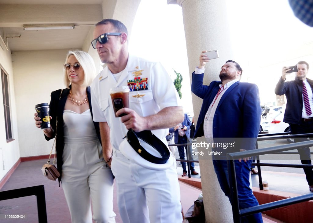 Military Trial Of Navy SEAL Eddie Gallagher Enters Jury Phase : News Photo