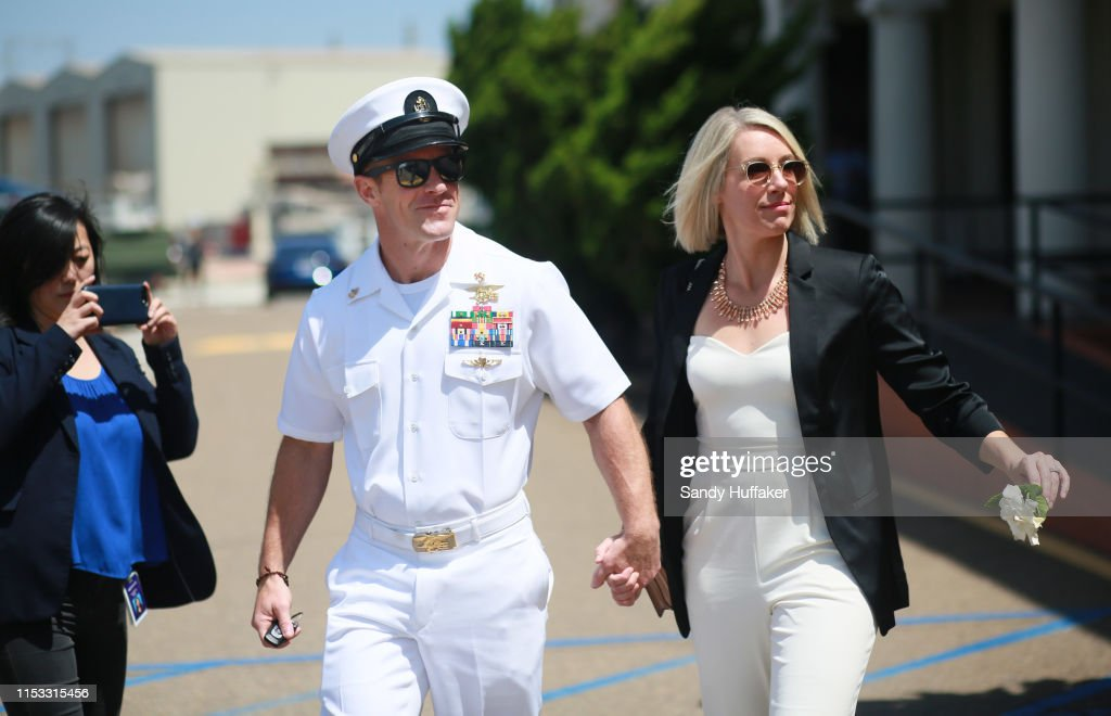 Military Trial Of Navy SEAL Eddie Gallagher Enters Jury Phase : Nachrichtenfoto
