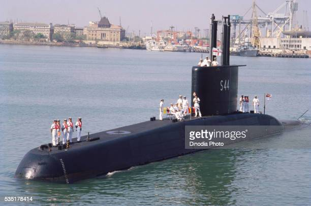 navy submarine in india. - submarine stock pictures, royalty-free photos & images