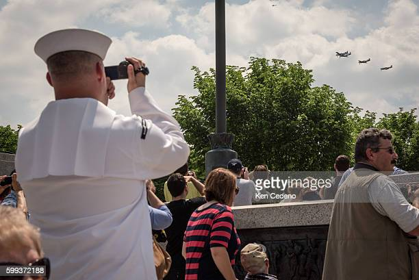 Navy Supply Petty Officer Kevin Smith based in Baltimore MD takes pictures of the most diverse array of World War II aircraft ever assembled...
