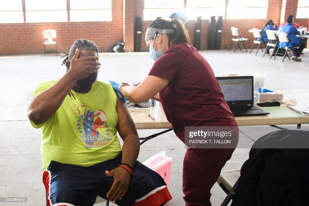 US-HEALTH-VIRUS-VACCINE : News Photo