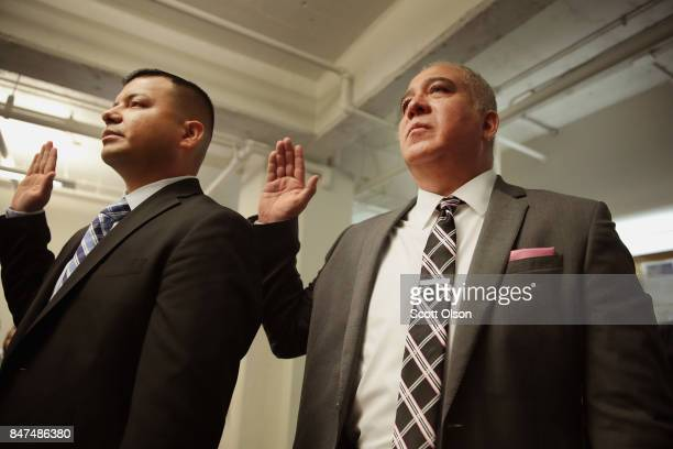 S Navy veteran Pedro Zamora who was 12 years old when he came to the United States and US Marine veteran Hector Alfaro who was three years old when...