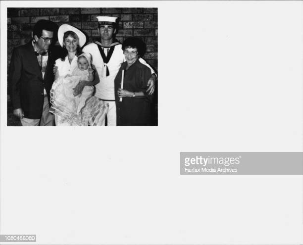 Navy wife and family at St MarysJohn Walsh Louise Walsh Emily Walsh and Edna Walsh ***** that their son 28yearold Richard an able seaman aboard HMAS...