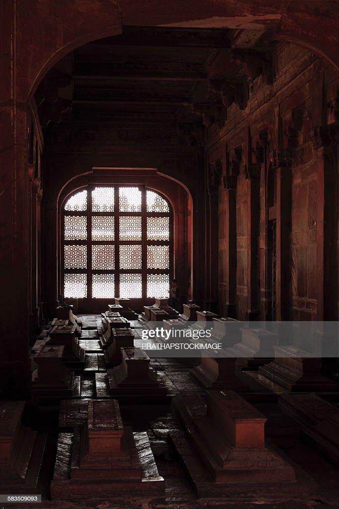 Nawab Islam Khan's Tomb at Fatehpur Sikri : Stock Photo