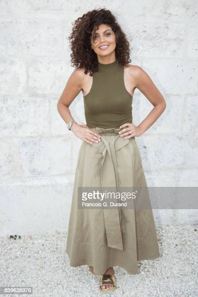 Nawell Madani attends the 10th Angouleme FrenchSpeaking Film Festival on August 26 2017 in Angouleme France