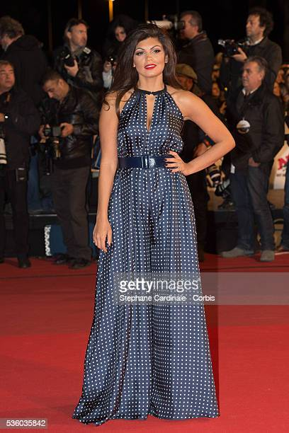 Nawell Madani attends the '16th NRJ Music Awards 2014' ceremony at Palais des Festivals on December 13 2014 in Cannes France