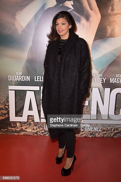 Nawell Madani attends the 'La French' Paris premiere at Cinema Gaumont Capucine on November 25 2014 in Paris France