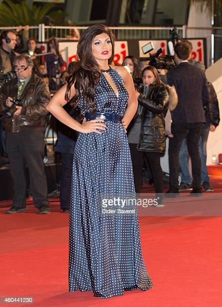 Nawell Madani attends the16th NRJ Music Awards at Palais des Festivals on December 13 2014 in Cannes France