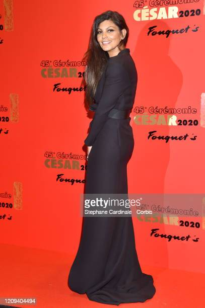Nawell Madani poses at Le Fouquet's on February 28 2020 in Paris France