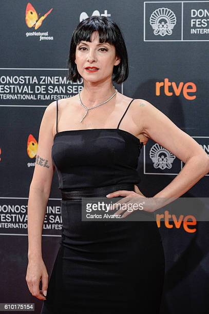 Nawja Nimri attends the red carpet of the closing gala of 64th San Sebastian Film Festival at Kursaal on September 24 2016 in San Sebastian Spain