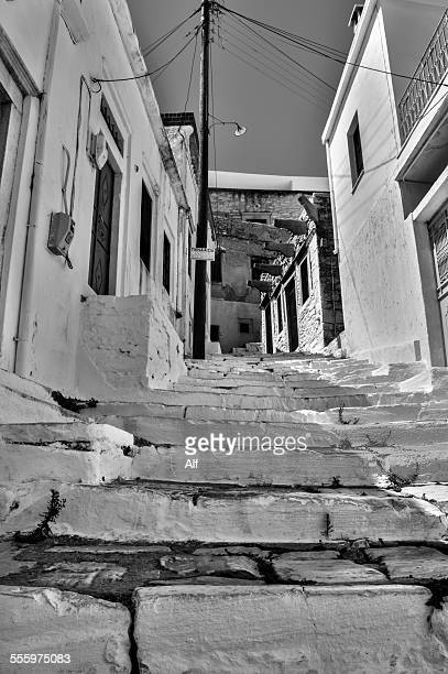 Naxos islands - Filoti street- Greece