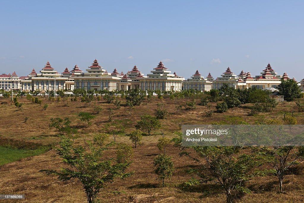 Nay Pyi Taw, Myanmar capital city : Stock Photo