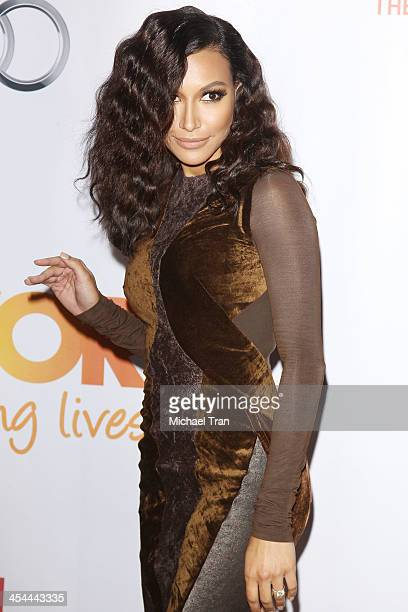Naya Rivera arrives at the 15th Annual Trevor Project Benefit held at Hollywood Palladium on December 8 2013 in Hollywood California
