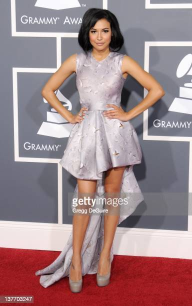 Naya Rivera arrives for the 53rd Annual GRAMMY Awards at the Staples Center February 13 2011 in Los Angeles California
