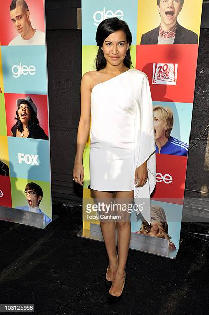 """Naya Rivera attends Fox's """"Glee"""" Academy event held at The Music Box Theatre on July 27, 2010 in Hollywood, California."""