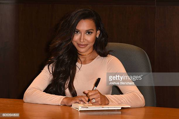 Naya Rivera attends her book signing for Sorry Not Sorry at Barnes Noble at The Grove on September 13 2016 in Los Angeles California