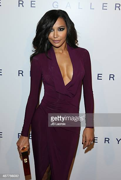 Naya Rivera attends the Brian Bowen Smith WILDLIFE show hosted by Casamigos Tequila at De Re Gallery on October 23 2014 in West Hollywood California