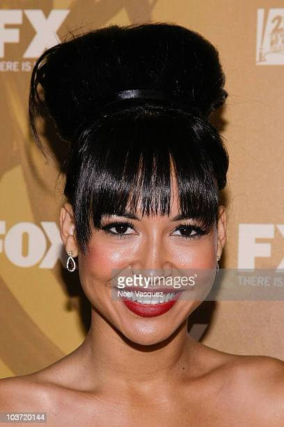 Naya Rivera attends the Fox's 62nd annual Emmy award nominees celebration at Cicada on August 29 2010 in Los Angeles California