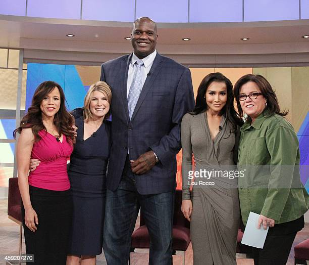 THE VIEW Naya Rivera guest cohosts Guests include Shaquille O'Neal and Evangeline Lily today Tuesday November 18 2014 on Walt Disney Television via...