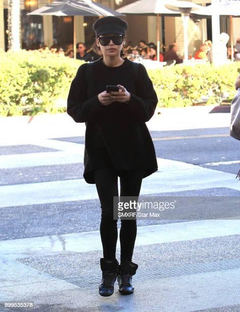 Naya Rivera is seen on December 28 2017 in Los Angeles CA