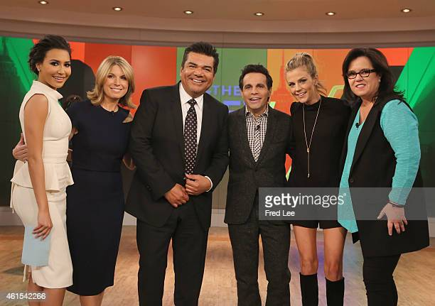 THE VIEW Naya Rivera Samantha Ponder and Mario Cantone guest cohost Guests include George Lopez and Donny Osmond today Wednesday January 14 2015 on...