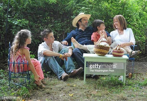 FILE Nayah 8 Fernando 14 Eduardo Garcia Valseca Emiliano 9 and Jayne Rager Valseca share the picnic area on their property in Leesburg Virginia on...