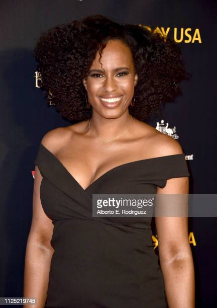 Nayanna Holley attends the 16th annual G'Day USA Los Angeles Gala at 3LABS on January 26 2019 in Culver City California
