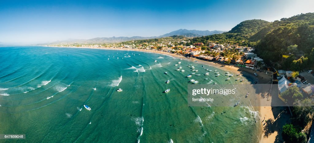 Nayarit Beach Mexico : Stock Photo