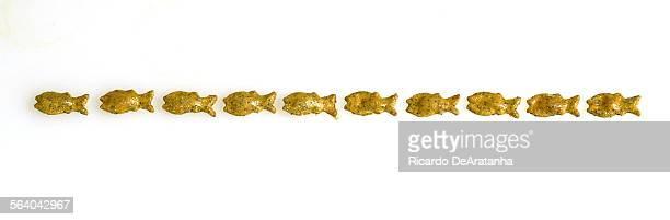 Naya's handmade Goldfish crackers