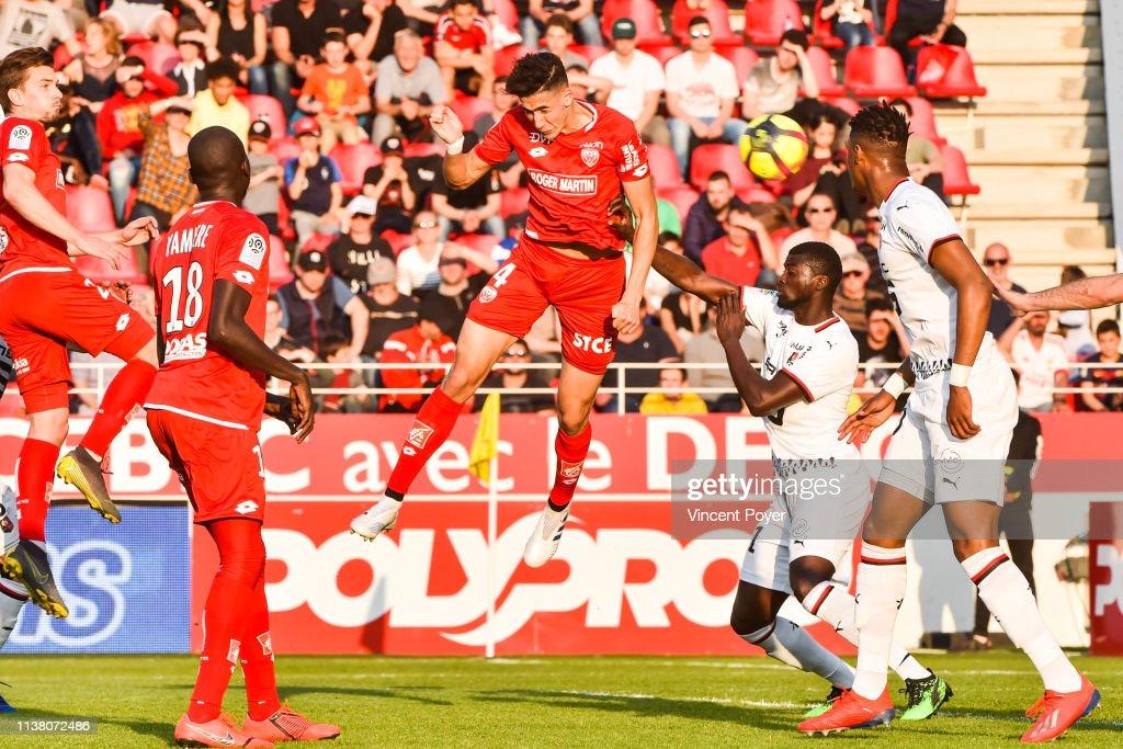 FRA: FCO Dijon v Stade Rennais FC - French Ligue 1