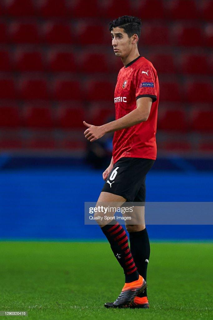 Stade Rennais v FC Sevilla: Group E - UEFA Champions League : ニュース写真