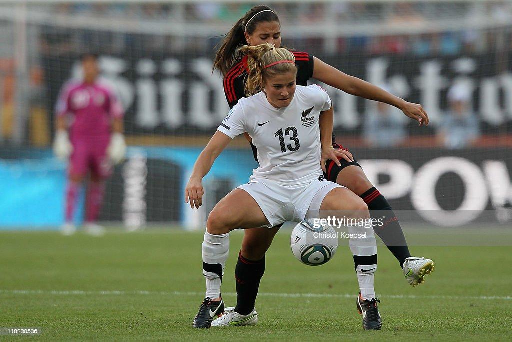New Zealand v Mexico: Group B - FIFA Women's World Cup 2011