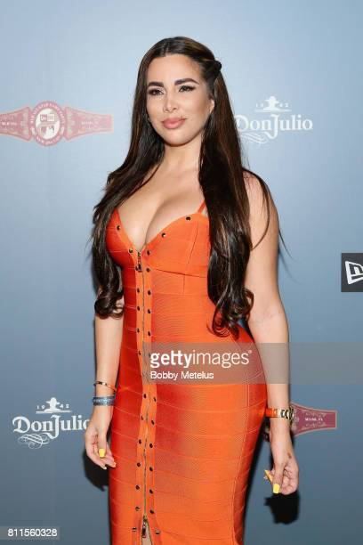 Nayer attends the New Era Cap MLB AllStar Party 2017 at Beachcraft at 1 Hotel South Beach on July 9 2017 in Miami Beach Florida