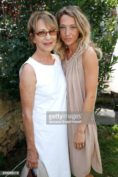 Nayhalie Baye and her Daughter Laura Smet attend the 10th Angouleme French-Speaking Film Festival : Day Six on August 27, 2017 in Angouleme, France.