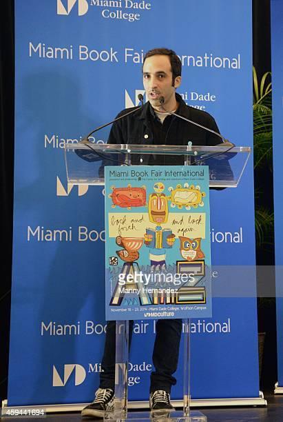 Nayib Estefan attends the Miami International Book Fair at Miami Dade College on November 21 2014 in Miami Florida