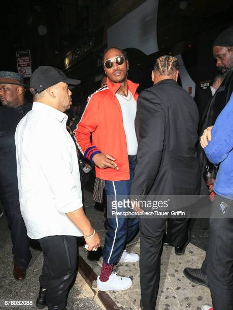 Nayvadius Wilburn aka 'Future' is seen attending the Rei Kawakubo/Comme des Garcons Art Of The InBetween' Costume Institute Gala After Party on May...