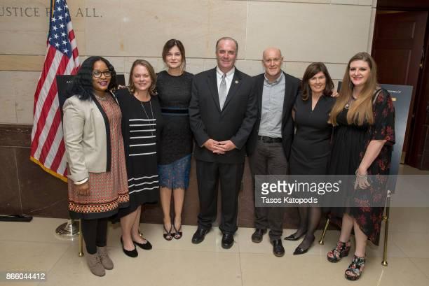 Nayyirah Shariff Lisa HamiltonDaly Betsy Brandt Congressman Dan Kildee Neil Meron Lisa HamiltonDaly and Melissa Mays attend the Lifetime Panel...