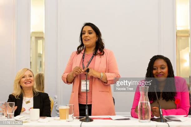 Naz Shah Labour MP for Bradford West shadow Women and Equalities minister with Dawn Butler Labour MP for Brent Central shadow women and equalities...