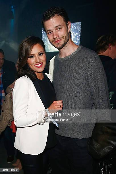 Nazan Eckes and Julian Khol attend the after show party to the final of 'Deutschland sucht den Superstar' show at Coloneum on May 3 2014 in Cologne...