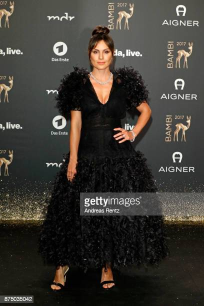 Nazan Eckes arrives at the Bambi Awards 2017 at Stage Theater on November 16 2017 in Berlin Germany