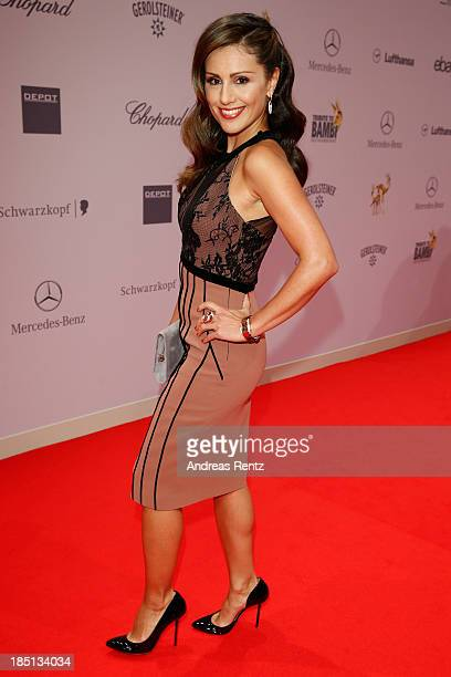 Nazan Eckes arrives at Tribute To Bambi at Station on October 17 2013 in Berlin Germany