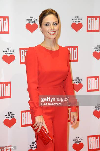 Nazan Eckes attends 'Ein Herz Fuer Kinder Gala 2012' Red Carpet Arrivals at Axel Springer Haus on December 15 2012 in Berlin Germany