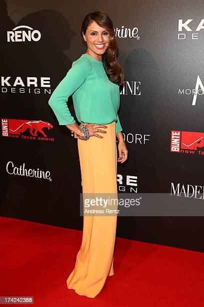 Nazan Eckes attends KARE Design at the New Faces Award Fashion 2013 at Rheinterrasse on July 22 2013 in Duesseldorf Germany